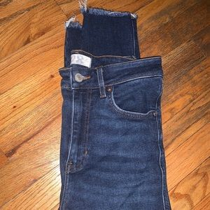 Free People skinny ankle jeans size 28